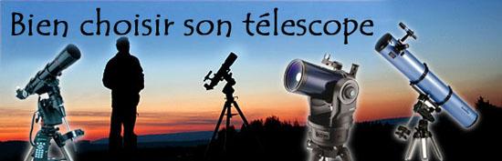 bien choisir son télescope